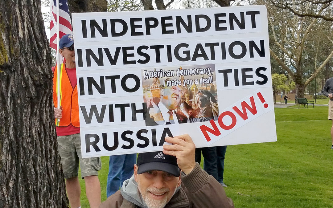 Rally and March on Donald Trump and Russia Connection