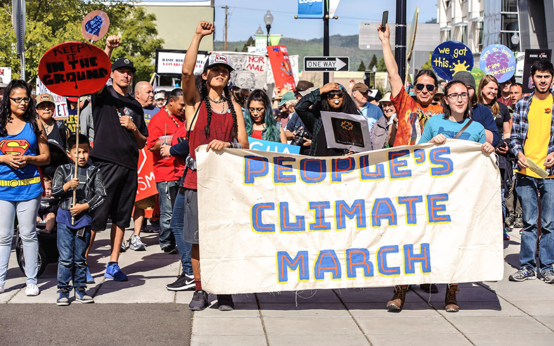Climate March, Medford OR