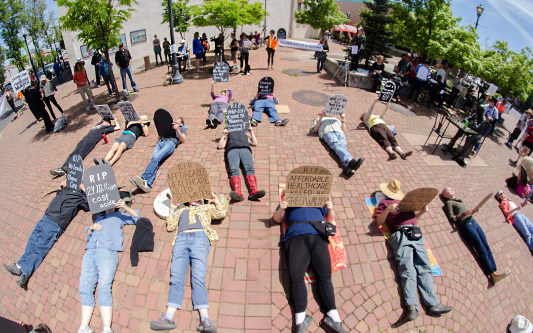 Die-In Rally and March, Medford