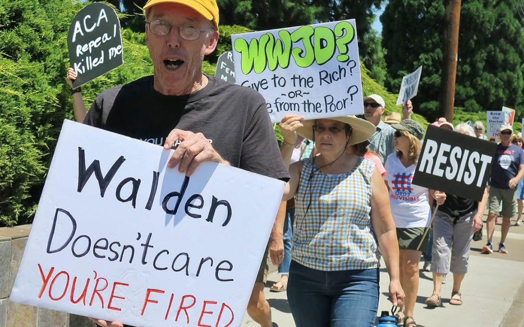Tuesday Flash Rally to Defend Affordable Health Care, Medford
